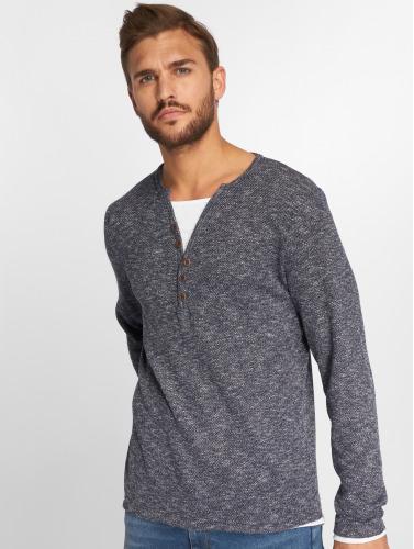 VSCT Clubwear Herren Longsleeve Buttoned Double Optic Basic in indigo Billige Angebote Die Besten Preise Verkauf Online SxN3BeKBVo