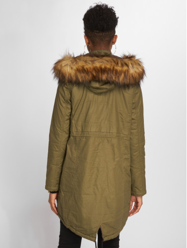 VSCT Clubwear Damen Mantel Coated in olive