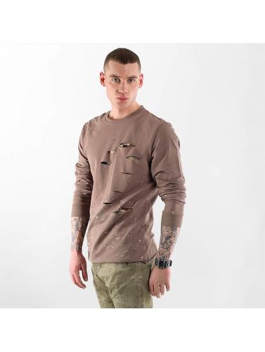 VSCT Clubwear Herren Pullover Slashed in braun