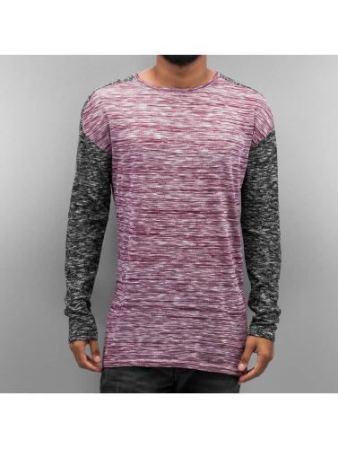 VSCT Clubwear Herren Pullover 2 Colour Moulinee in rot