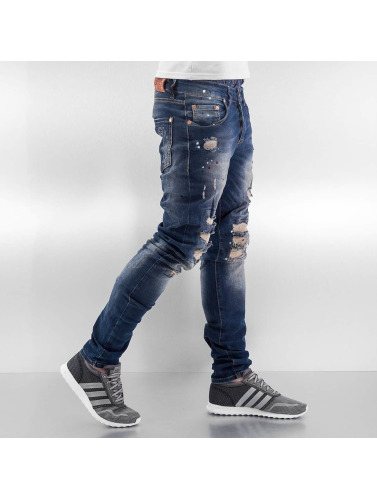 Vsct Clubwear Herren Skinny Jeans Alec Slim 5 Pocket In Blau