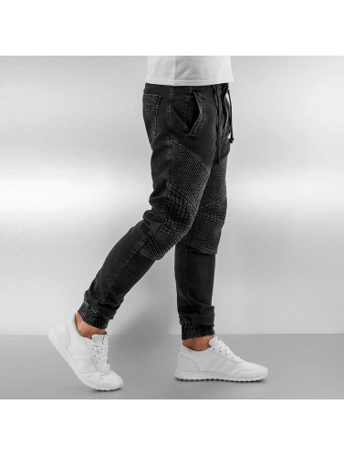 Vsct Clubwear Herren Skinny Jeans Neo Cuffed In Schwarz