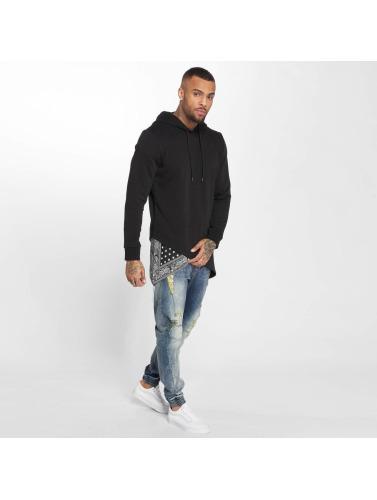 VSCT Clubwear Hombres Sudadera Bandana Pennant Triangle in negro