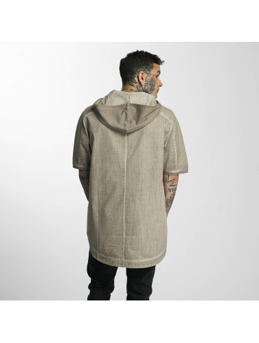 VSCT Clubwear Herren T-Shirt Hooded in beige