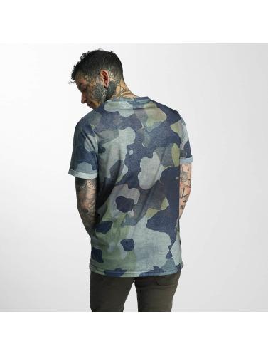 VSCT Clubwear Herren T-Shirt Triangle Logo in camouflage