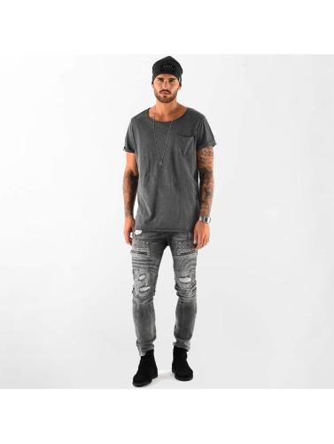 VSCT Clubwear Herren T-Shirt Clubwear Sleep F**k in grau