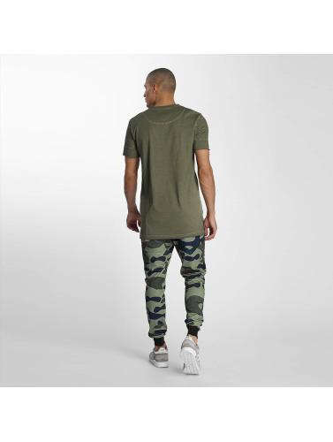 VSCT Clubwear Herren T-Shirt Biker in khaki