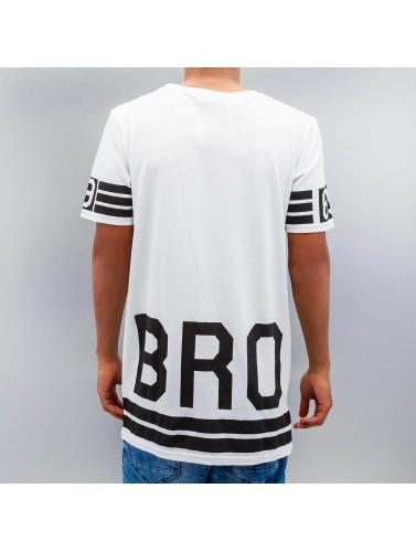 VSCT Clubwear Herren T-Shirt Flamingo Bro Oversize in weiß