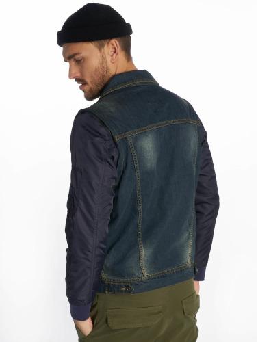 VSCT Clubwear Herren Übergangsjacke Bomber Sleeves in blau