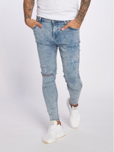 VSCT Clubwear Hombres Vaqueros pitillos Keanu Kneetcut `91 in azul