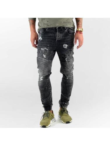 Vsct Menn Straight Jeans Clubwear I Svart Biker Noah billig salg beste klaring sneakernews salg klaring rabatt rimelig 3wuWW7OOm