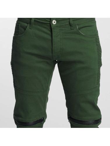 Hunter Hombres Vaqueros Clubwear in oliva rectos VSCT I7BxHwq464