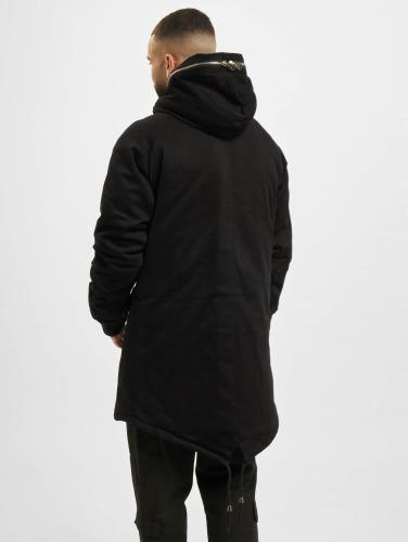VSCT Clubwear Herren Winterjacke Double Zipper Huge Luxury in schwarz
