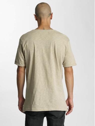 Who Shot Ya? Hombres Camiseta Haora in beis