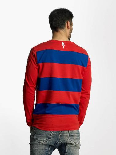 Who Shot Ya? Hombres Camiseta de manga larga Boticelli in rojo