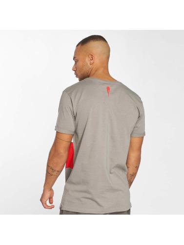 Who Shot Ya? Hombres Camiseta PortMorris in gris