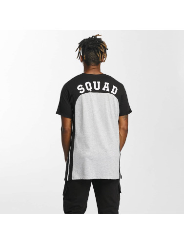 Who Shot Ya? Hombres Camiseta SquadSquare in gris
