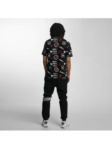 Who Shot Ya? Hvem Shot Ya? Hombres Camiseta Gameover In Negro Menn Game I Svart beste online oE8nq