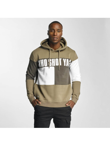 Who Shot Ya? Herren Hoody This Tao in beige