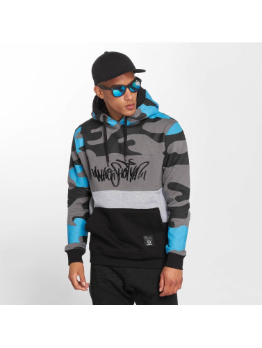 Who Shot Ya? Herren Hoody Devious WW in blau