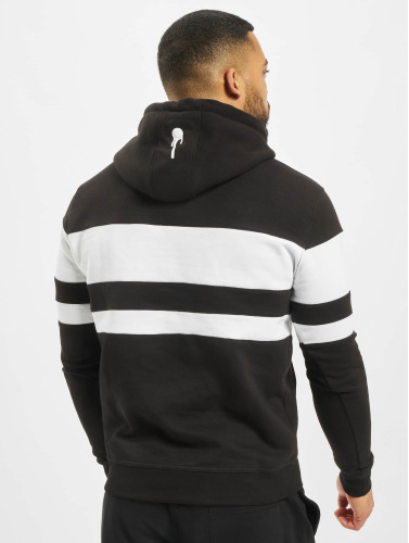 Who Shot Ya? Herren Hoody Black And White in schwarz