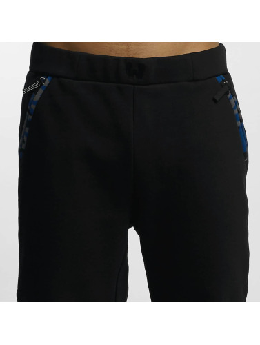 Who Shot Ya? Herren Jogginghose Bluecamou in schwarz