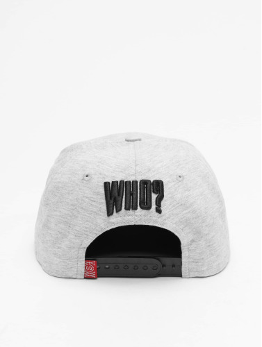 Who Shot Ya? Snapback Cap Dream in grau