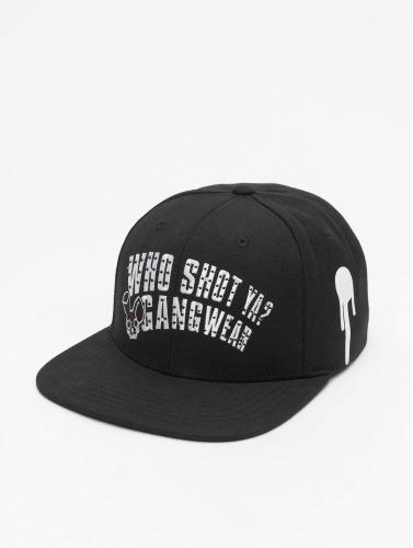 Who Shot Ya? Snapback Cap Gangwear in schwarz
