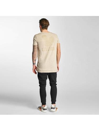 Who Shot Ya? Herren T-Shirt Bunny in beige