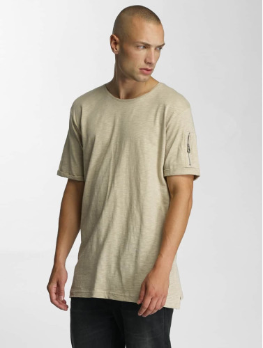 Who Shot Ya? Herren T-Shirt Haora in beige