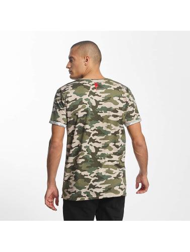 Who Shot Ya? Herren T-Shirt Gunshot in camouflage