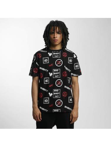 Who Shot Ya? Herren T-Shirt GameOver in schwarz