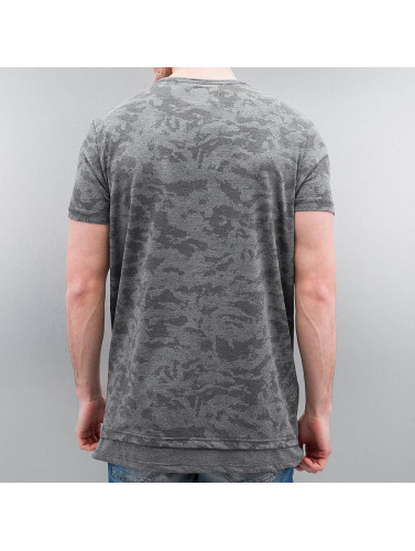Who Shot Ya? Herren Tall Tees Armee in grau