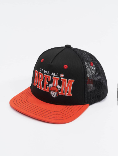 Who Shot Ya? Trucker Cap Dreamball in schwarz