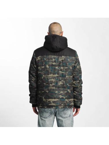 Who Shot Ya? Herren Winterjacke Uniondale in camouflage