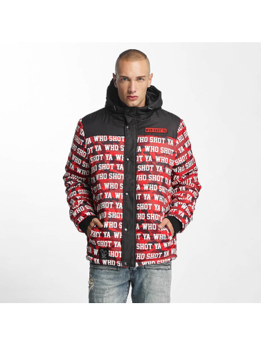 Who Shot Ya? Herren Winterjacke Uniondale in rot