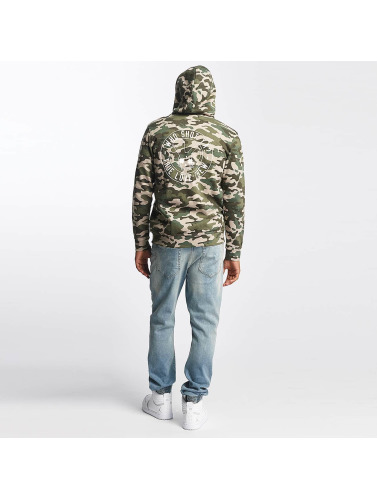 Who Shot Ya? Herren Zip Hoodie Camo in camouflage