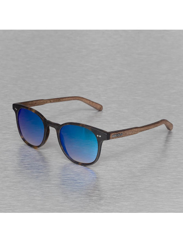 Wood Fellas Eyewear Sonnenbrille Eyewear Schwabing Polarized Mirror in braun