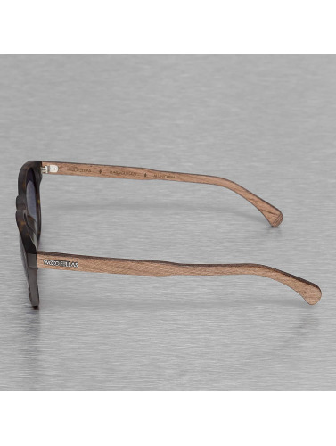 Wood Fellas Eyewear Sonnenbrille Eyewear Haidhausen Polarized Mirror in braun