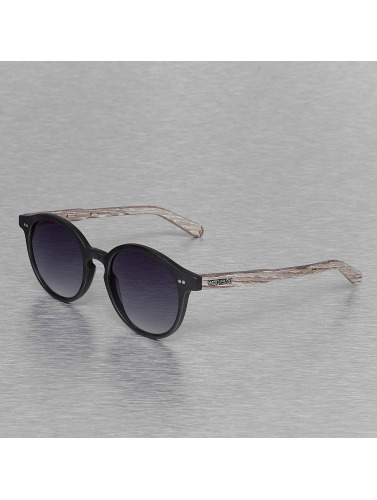 Wood Fellas Eyewear Sonnenbrille Eyewear Solln Polarized Mirror in schwarz