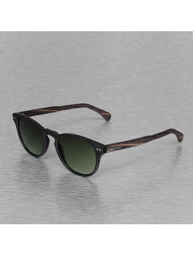 Wood Fellas Eyewear Sonnenbrille Eyewear Haidhausen Polarized Mirror in schwarz