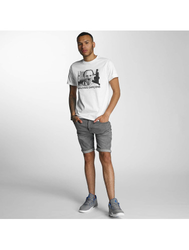 Wrung Division Hombres Camiseta Lecter in blanco