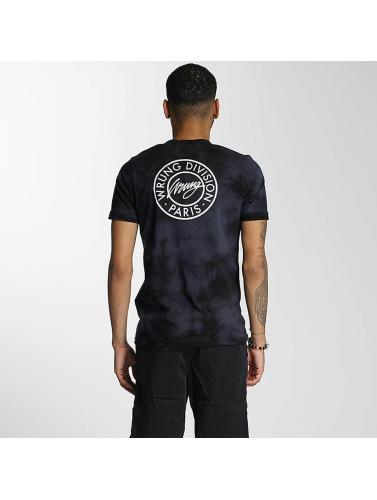 75th Division Hombres Negro Div Camiseta Wrung In tAwxFdqq7