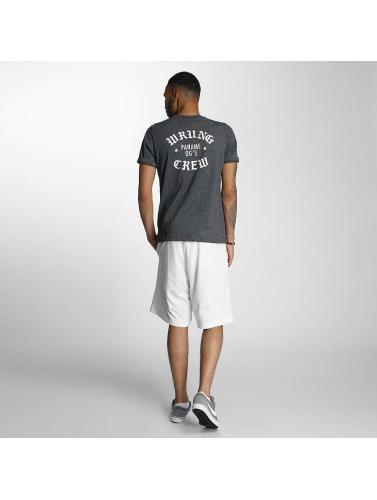 Wrung Division Hombres Camiseta Real OG in negro