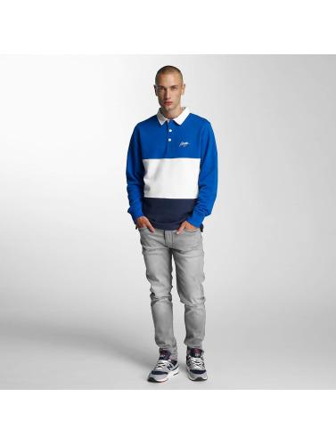 Wrung Division Hombres Camiseta polo Park Polo in azul