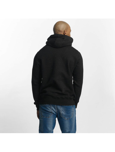 Wrung Division Herren Hoody Heather Sign in schwarz