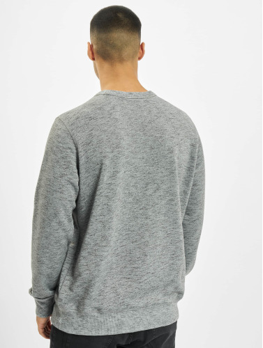 Wrung Division Hombres Jersey Step in gris