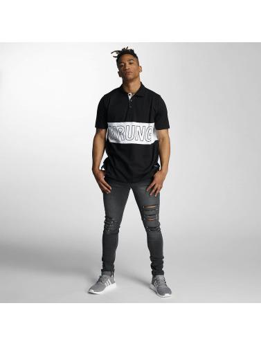 Wrung Division Herren Poloshirt Sport in schwarz