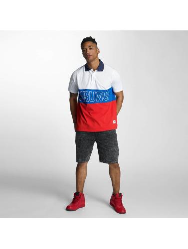 Wrung Division Herren Poloshirt Sport in weiß