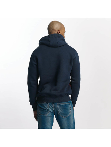 Wrung Division Hombres Sudadera Rusher in azul